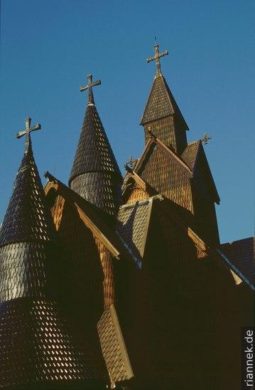 Stabskirche Heddal