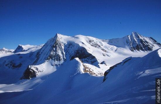 Mont Blanc de Cheilon von La Luette