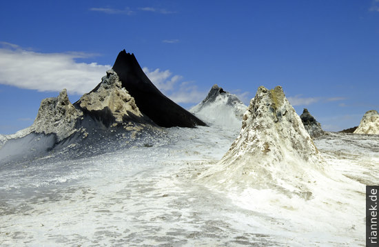 Hornitos im Krater, Oldoinyo Lengai