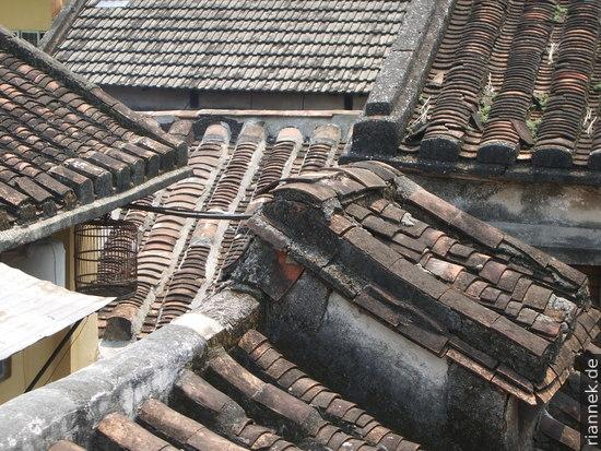 Dächer in Hoi An