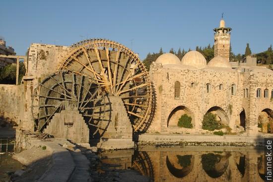Wasserräder in Hama