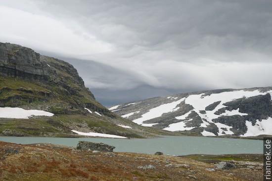 Sturm auf der Hardangervidda