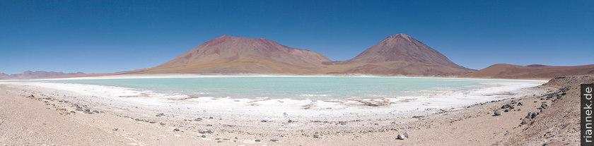Laguna Verde mit dem Licancabur