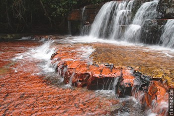 Quebrada de Jaspe in der Gran Sabana