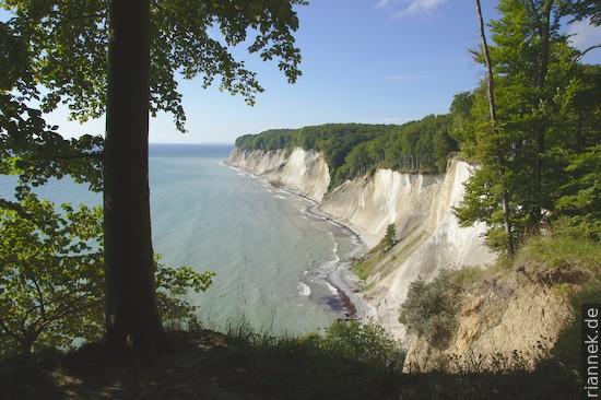 Kreideküste nahe Kollicker Ort
