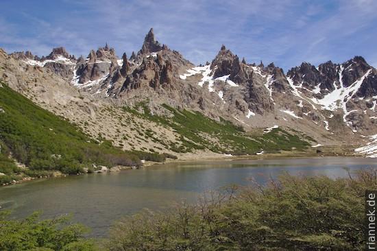 Pico Catedral vom Refugio Frey