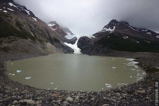 Los Perros Gletscher