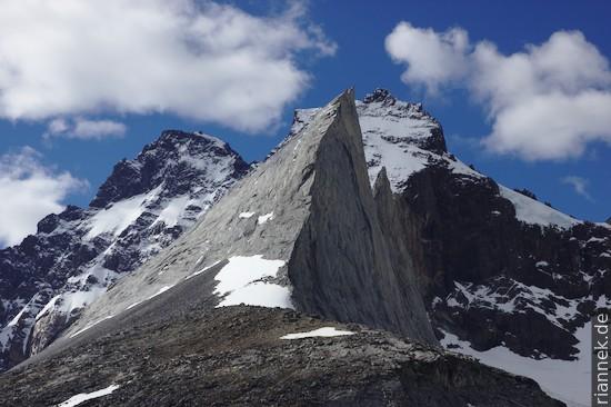 Cerro Aleta de Tiburón, Valle del Frances