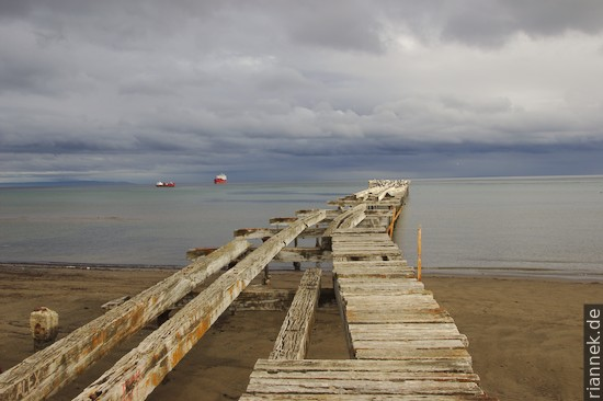 Steg in Punta Arenas