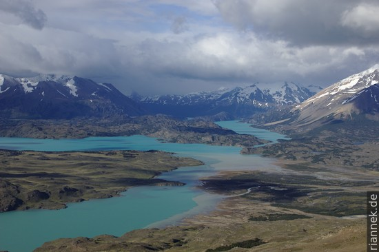 Lago Belgrano vom Cerro Leon