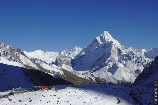 Ama Dablam von Dzongla