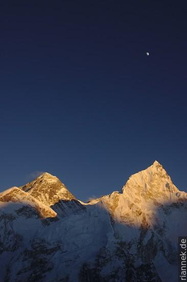 Everest usw. vom Kala Patthar