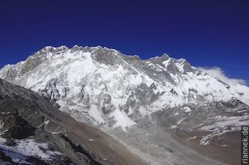 Nuptse und Lhotse vom Chhukhung Ri