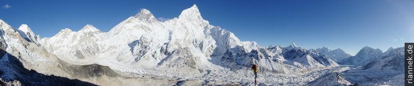 Panorama vom Kala Patthar