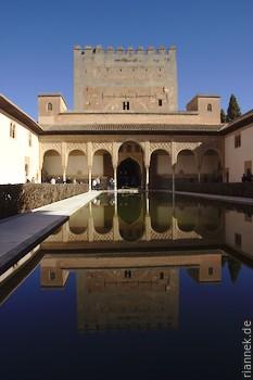 Myrtenhof in der Alhambra