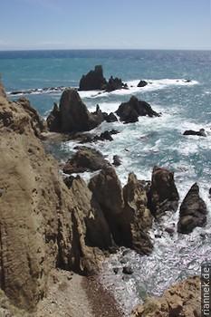 Reste eines Lavadoms am Cabo de Gata