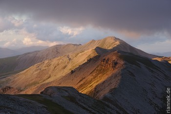 Grey Corries im Abendlicht