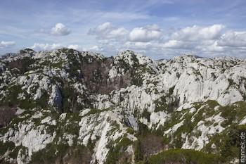 Dolinen im Nördlichen Velebit