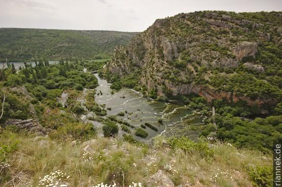 Roški slap, Krka Nationalpark