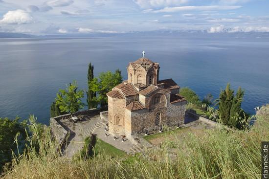 Sveti Jovan at Kaneo in Ohrid