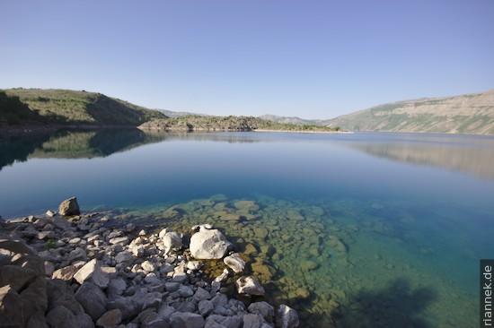 Kalter See in der Caldera des Nemrut Dagi