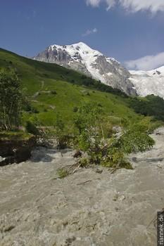 Fluß in Swanetien