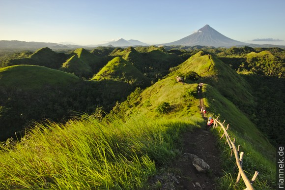 Quitinday Green Hills mit Mayon